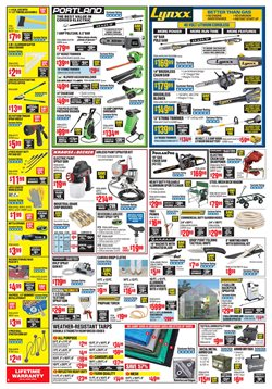 Garden deals in the Harbor Freight Tools weekly ad in Schenectady NY