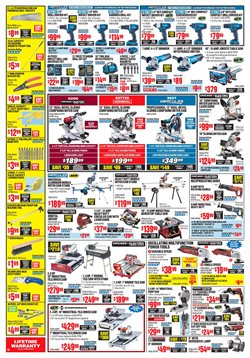 Tile deals in the Harbor Freight Tools weekly ad in York PA