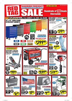Tools & Hardware deals in the Harbor Freight Tools weekly ad in Lakewood WA