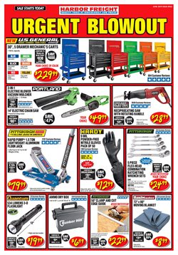 Harbor Freight Tools deals in the San Jose CA weekly ad