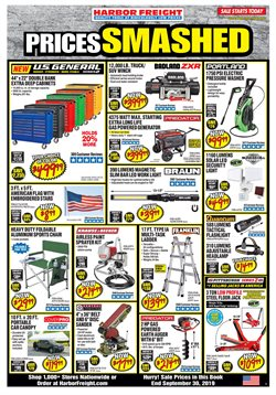Tools & Hardware deals in the Harbor Freight Tools weekly ad in Federal Way WA