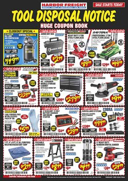 Tools & Hardware offers in the Harbor Freight Tools catalogue in Sugar Land TX ( 6 days left )
