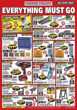 Harbor Freight Tools catalogue ( Published today )