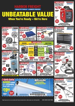 Tools & Hardware offers in the Harbor Freight Tools catalogue in Vallejo CA ( 1 day ago )