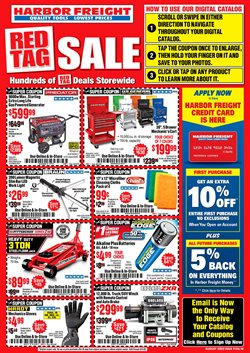 Tools & Hardware offers in the Harbor Freight Tools catalogue in Santa Ana CA ( 20 days left )