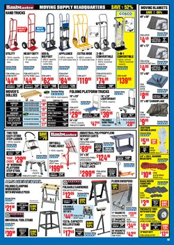 Furniture deals in Harbor Freight Tools