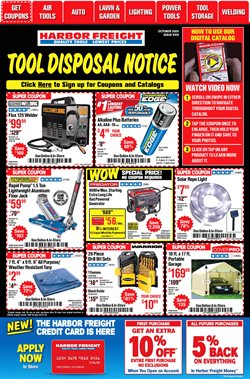 Tools & Hardware offers in the Harbor Freight Tools catalogue in Hialeah FL ( 11 days left )