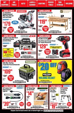 Brakes deals in Harbor Freight Tools