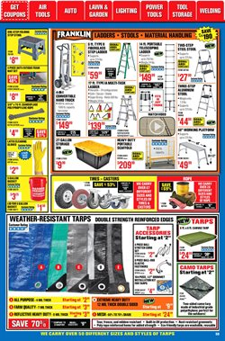 Maps deals in Harbor Freight Tools