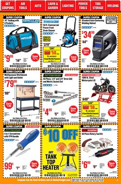 Toughskins deals in Harbor Freight Tools