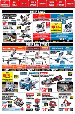 Dual deals in Harbor Freight Tools