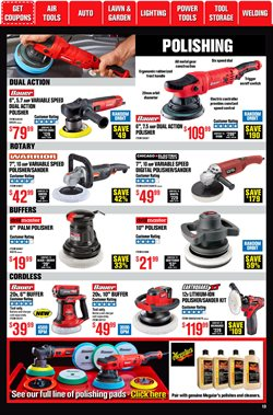 Chargers deals in Harbor Freight Tools