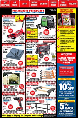 Tools & Hardware offers in the Harbor Freight Tools catalogue in Pasadena TX ( Expires tomorrow )