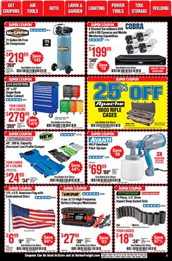 Hoist deals in Harbor Freight Tools