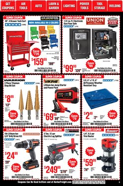 Ruger deals in Harbor Freight Tools