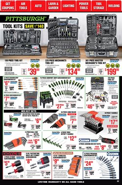 Playmobil deals in Harbor Freight Tools