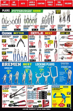 Square deals in Harbor Freight Tools