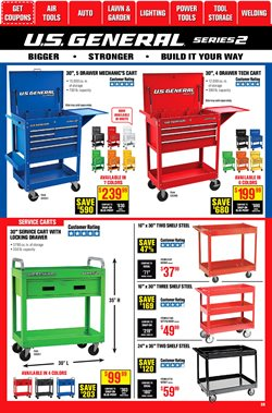 Shelving deals in Harbor Freight Tools