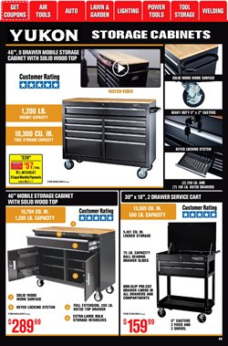 Drawers deals in Harbor Freight Tools