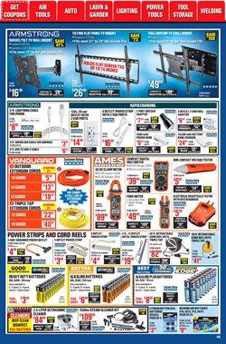TV deals in Harbor Freight Tools