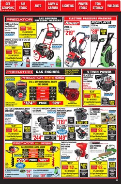 HP deals in Harbor Freight Tools
