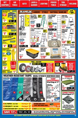 Living room deals in Harbor Freight Tools