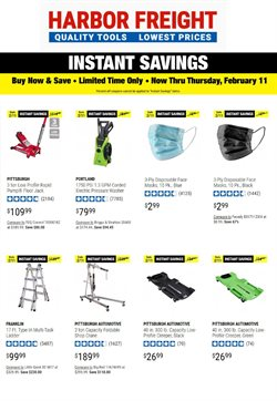 Harbor Freight Tools catalogue ( Expires today )