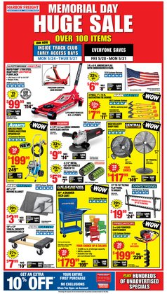 Harbor Freight Tools deals in the Harbor Freight Tools catalog ( Expired)