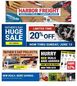 Harbor Freight Tools catalog ( 10 days left)