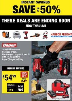 Harbor Freight Tools catalog ( Expires tomorrow)