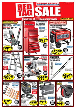 Harbor Freight Tools deals in the Erie PA weekly ad
