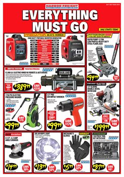 Harbor Freight Tools deals in the Houston TX weekly ad