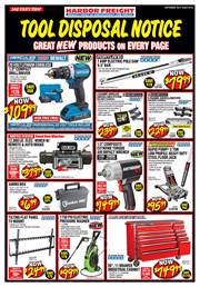 Catalogs with Harbor Freight Tools deals in New York