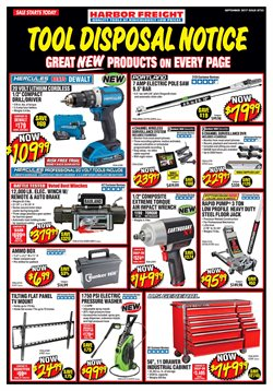 Harbor Freight Tools deals in the Miami FL weekly ad