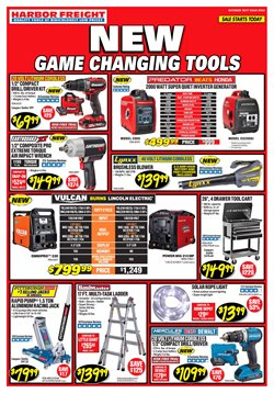 Tools & Hardware deals in the Harbor Freight Tools weekly ad in Miami FL