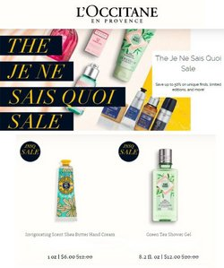 Beauty & Personal Care deals in the L'Occitane catalog ( 2 days left)