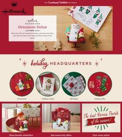 Gifts & Crafts deals in the Hallmark catalog ( 2 days left)