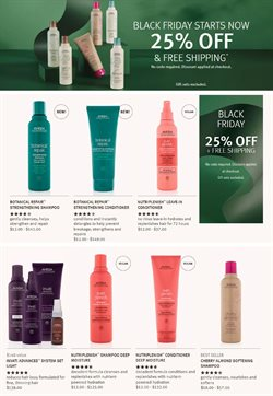 Beauty & Personal Care offers in the Aveda catalogue in Overland Park KS ( Expires today )
