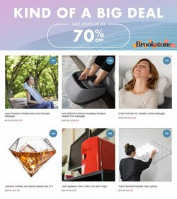 Department Stores deals in the Brookstone catalog ( 6 days left)