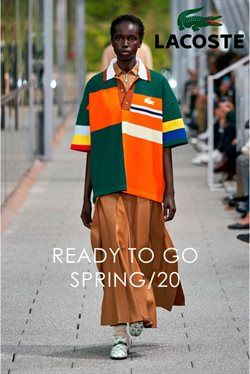 Lacoste catalogue in Chicago IL ( More than a month )