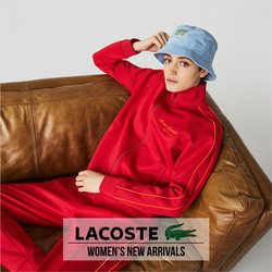 Lacoste deals in the Lacoste catalog ( More than a month)