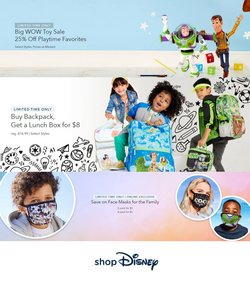 Kids, Toys & Babies deals in the Disney Store catalog ( Expires today)