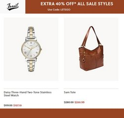Fossil deals in the Fossil catalog ( 7 days left)