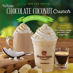 Gloria Jean's Coffees deals in the New York weekly ad