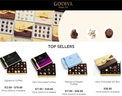 Godiva Chocolatier deals in the Godiva Chocolatier catalog ( 2 days left)