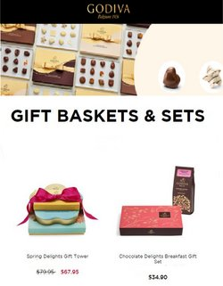 Gifts & Crafts deals in the Godiva Chocolatier catalog ( 10 days left)