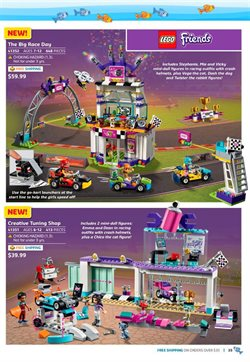 Launcher deals in the LEGO weekly ad in New York