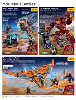 Iron Man deals in the LEGO weekly ad in New York