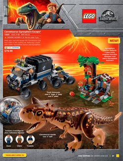 Dinosaurs deals in the LEGO weekly ad in New York