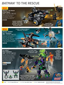 Batman deals in the LEGO weekly ad in New York
